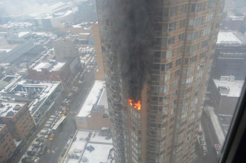 New York Hi Rise Apartment Fire